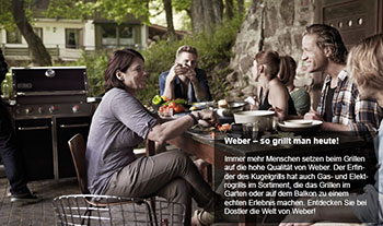 Outdoorküche Weber Usa : Weber grill marketing trust marketing